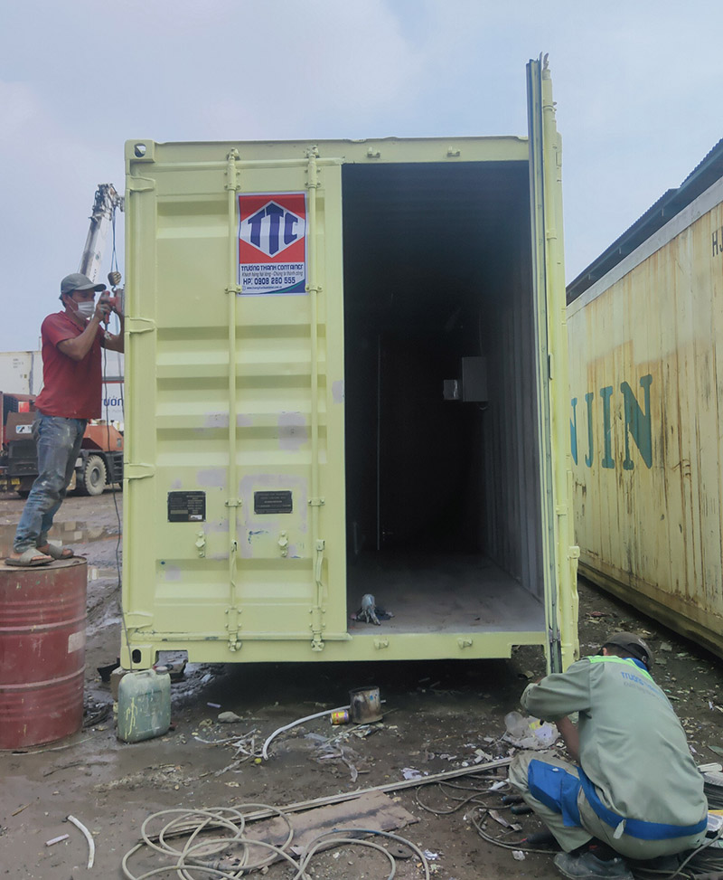 Dịch vụ sửa chữa, bảo dưỡng container chuyên nghiệp